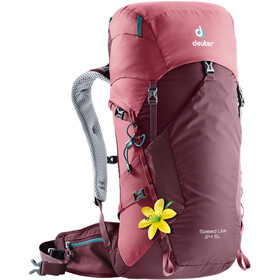 Deuter Speed Lite 24 SL Backpack Dam maron-cardinal